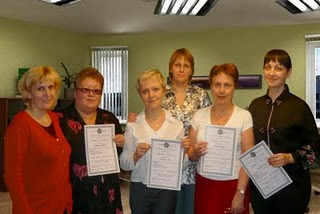 Выпускники Авторской Эзотерической Школы ВЕГАС с сертификатами