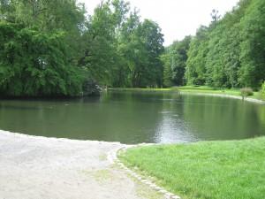 озеро в замке